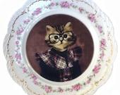 "Tara, School Portrait Plate 9.75"""