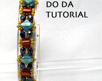 NEW Beading Tutorial for Zip Beady Do Da Bracelet with Silky beads