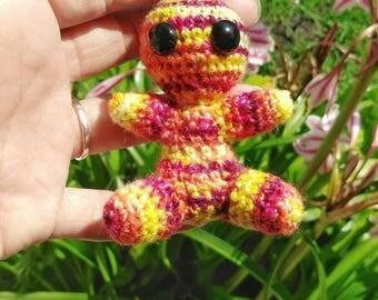 Zipper Pull, Backpack Charm, Crochet Keychain, Stuffed Animal, Amigurumi, Purse Charm, Keychain Charms, Key Chain, Crochet Charms, Keychain