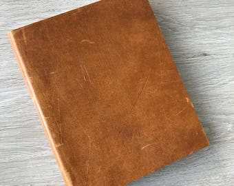Leather notebook or journal - already made, one-of-a-kind