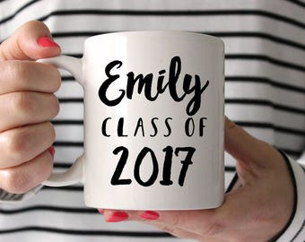 High School Graduation Gift College Graduation Gift for Her Graduation Sorority Gift Personalized Graduation Gift Funny Coffee Mug