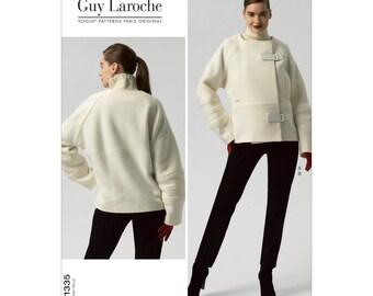 Sz 14/16/18/20/22 - Vogue Pattern V1335 by GUY LAROCHE - Misses' Loose Fitting Jacket & Slim Pants - Vogue Paris Original
