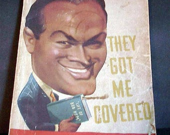 They Got Me Covered / Bob Hope Book / First Edition