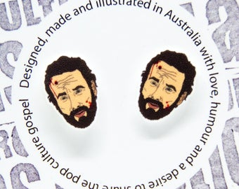 The Walking Dead - Rick Grimes 'bloody' earrings
