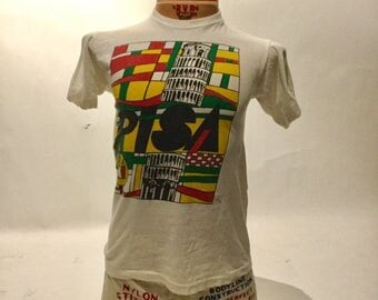 Vintage Souvenir Leaning Tower of Pisa Tee Shirt 90's (OS-TS-67)