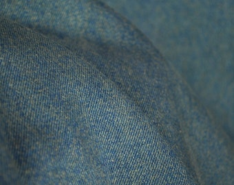 Classic Marina Blue Denim Cotton Upholstey Fabric