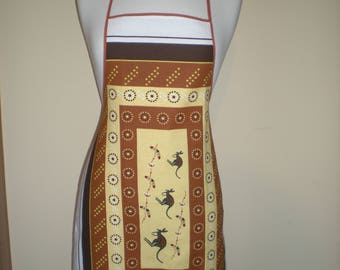 Australian Aboriginal kangaroo souvenir apron Great overseas gift for family and friends Cotton fabric