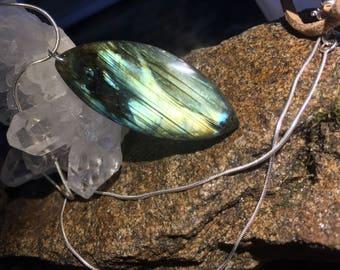 Labradorite in Sterling Silver