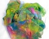 Custom Listing for Kathy. Hand dyed Silk Fabric, Silk Gauze Length, Ready to Ship, 89 x 42 inches, SallyAnnesSilks on Etsy Kathy