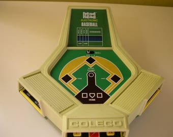 Vintage Coleco Head to Head Electronic Baseball Game 1982