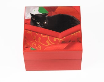 "Shop ""cat christmas stocking"" in Storage & Organization"