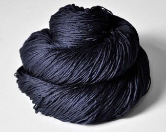 Drowning in the deep blue sea - Silk Fingering Yarn