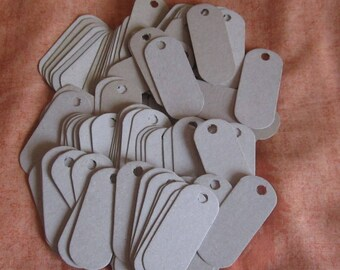 100 Long Tags, 100 Long Cardboard Tags, 100 Eco Friendly Tags, Cardboard Tags, Product Tags, Jewelry Tags, Long Small Tags, Merchandise Tags