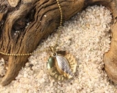 Sea Shell Just Breathe Necklace SALE