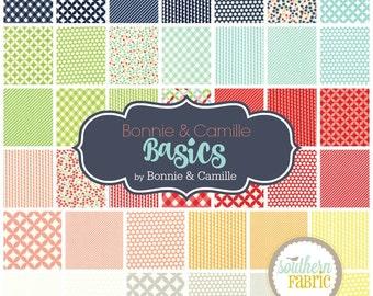 Basics - Layer Cake by Bonnie and Camille for Moda 10 INCH Quilting Fabric
