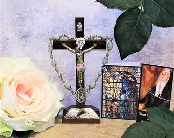 Unbreakable Traditional Catholic Relic Chaplet of St. Rita of Cascia - Patron of Impossible Causes, Abuse Victims and Difficult Marriages