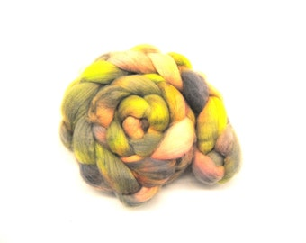 SORBET Hand-Dyed Cheviot Combed Top/Roving-4 ounces