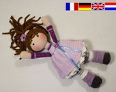 Crochet pattern for doll MIA (Deutsch, English, Français, Nederlands)