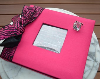Hot Pink Bachelorette Party Pre-made Scrapbook
