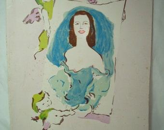 1940s Lily PONSSouvenir Life Story Booklet.