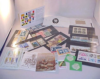 79 Postage Stamps From Around The World