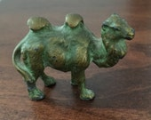 Miniature Bronze or brass vintage two hump Camel