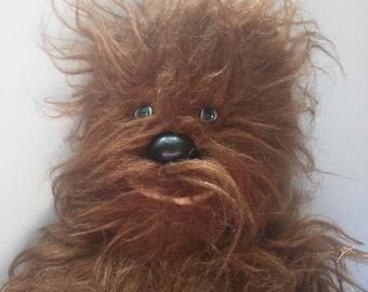 Vintage Star Wars Chewbacca Plush Wookie from 1977 Kenner