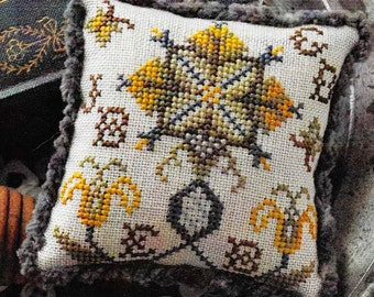 Counted Cross Stitch, Cross Stitch Pattern, Fragments in Time, 2017 No 2, Elizabethan Crewelwork, Summer House Stitches Workes, PATTERN ONLY