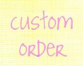 Custom Listing for LivGriff