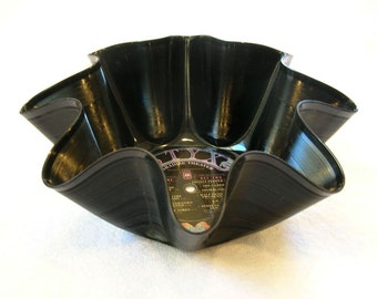 Styx Record Bowl Made From Recycled Vinyl Album