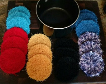 Crochet scrubbies (set of 3)