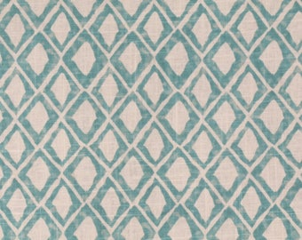 Nate Berkus Ogden Diamond Aquamarine Pillow Cover