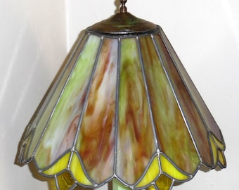 antique glass lamp shades etsy. Black Bedroom Furniture Sets. Home Design Ideas