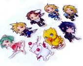 Final fantasy Heroes Sticker set of 8