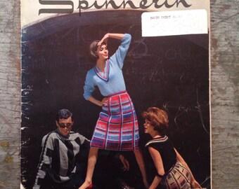 Vintage 1964 Spinnerin Yarn Knitting Pattern Book Volume 172