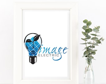 Custom Logo Design -Custom Business Logo - Illustrated Watermark -  Business Logo - Business Branding & Design - Personalized Logo