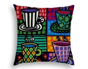 great dane art pillow dog lovers home decor gift dog