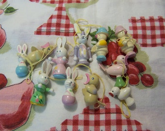 pastel painted cute easter decorations