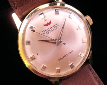 Waltham Watch - Smooth & Clean - c.1960's