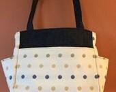 Katrina # 1740, Knitting Bag, Expanding Knitting Bag, Self Standing Tote, Project Tote, Project Bag, Knitting Project Bag, Crochet and Knit