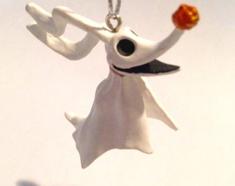 """ADORABLE ZERO -- The Ghost Dog From Tim Burton's 1994 Classic Film, """"Nightmare Before Christmas""""!"""