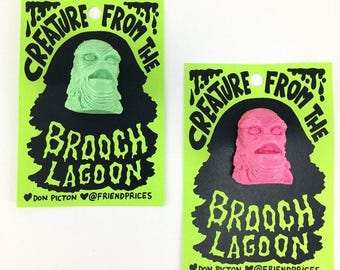 Creature from the Brooch Lagoon