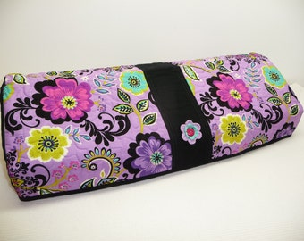 Silhouette Cameo 3 Cover - Purple Blooms  - Quilted Cameo 3 Cozy