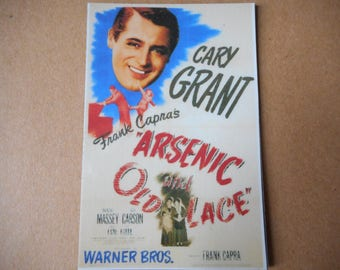 Magnet Arsenic and Old Lace Cary Grant movie poster magnet