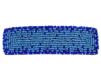 French Barrette Clip - Blue - Barrette Clip - 4 Inches