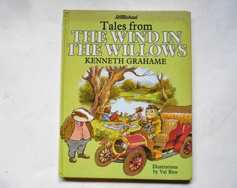 Tales From the Wind in the Willows, a Vintage Children's Book