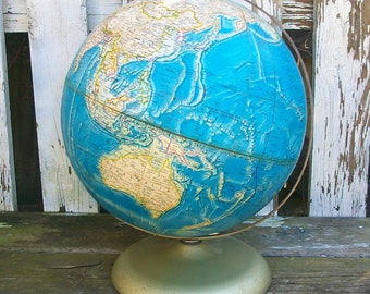 "Vintage 12"" Rand McNally International globe (circa 1978-1984)"