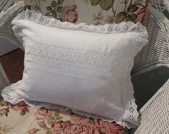 Eyelet Pillow Sham Etsy