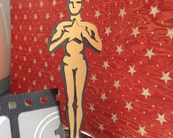 Hollywood theme party die cuts - Ideal for Oscar theme party - Graduation - Hollywood night- Hollywood prop - Photo Booth props