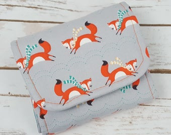 Limelight Wallet - Foxes - Teal